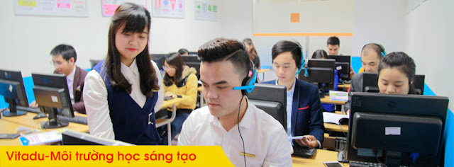 Môi trường học tập tại lớp học thiết kế đồ họa tại thanh trì của Việt Tâm Đức
