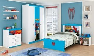 habitación hombre araña