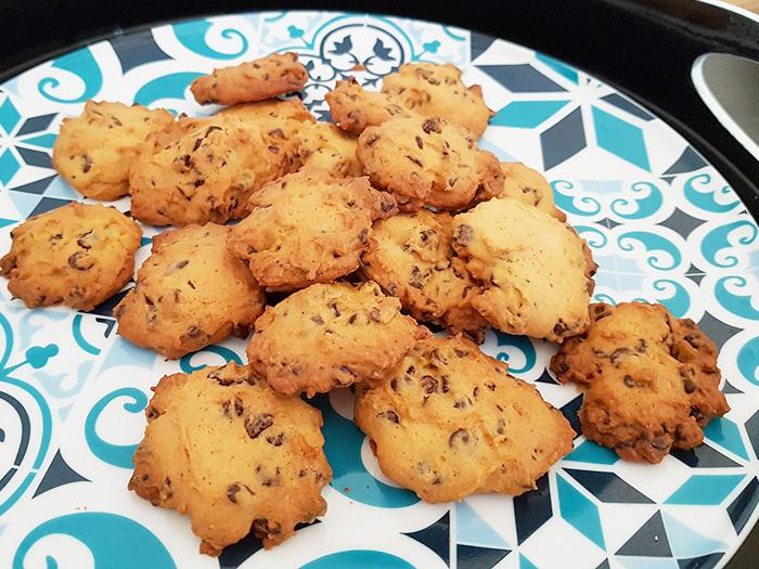 Cookies aux pépites de chocolat blog nimoise nimes 6