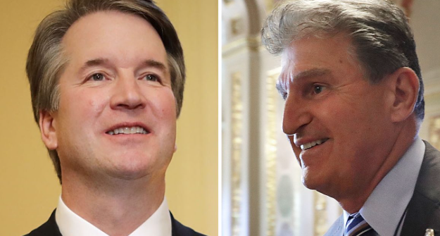 Why Manchin Stands Alone Among Dems for Kavanaugh