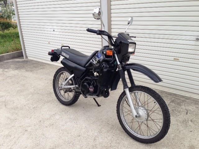 yamaha dt 50cc 110 000 yens casual bike style. Black Bedroom Furniture Sets. Home Design Ideas