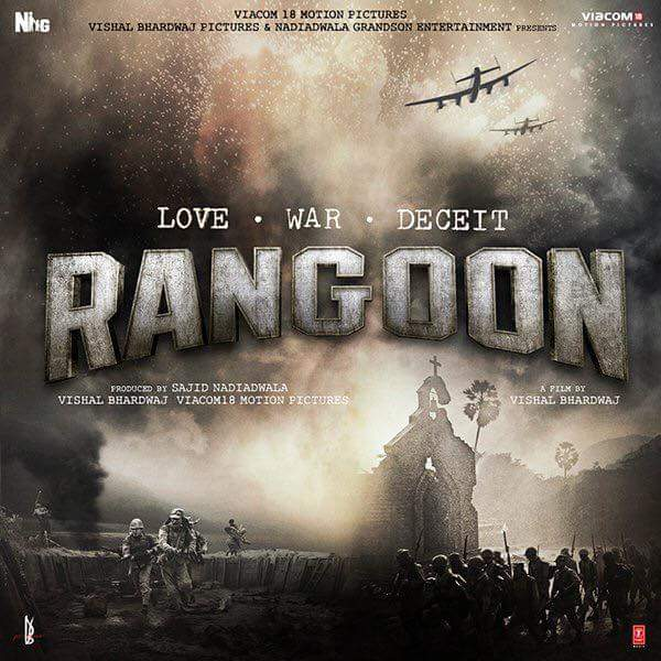 Rangoon film 2017 picture, trailer