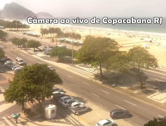 Cameras ao vivo de Copacabana - Rio de Janeiro - Copacabana Ao Vivo