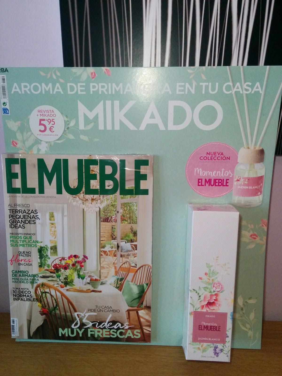 siempre me gustaron la revistas de decoracin y en primavera suelen tener unas muy frescas en esta edicion trae con flores
