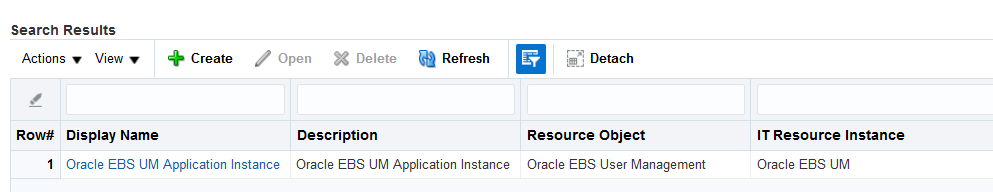 Identity Manager Connector for Oracle E-Business Suite User