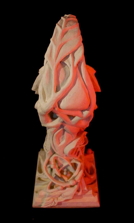 Скульптура человека-кукурузы. Eduardo Urbano Merino 5