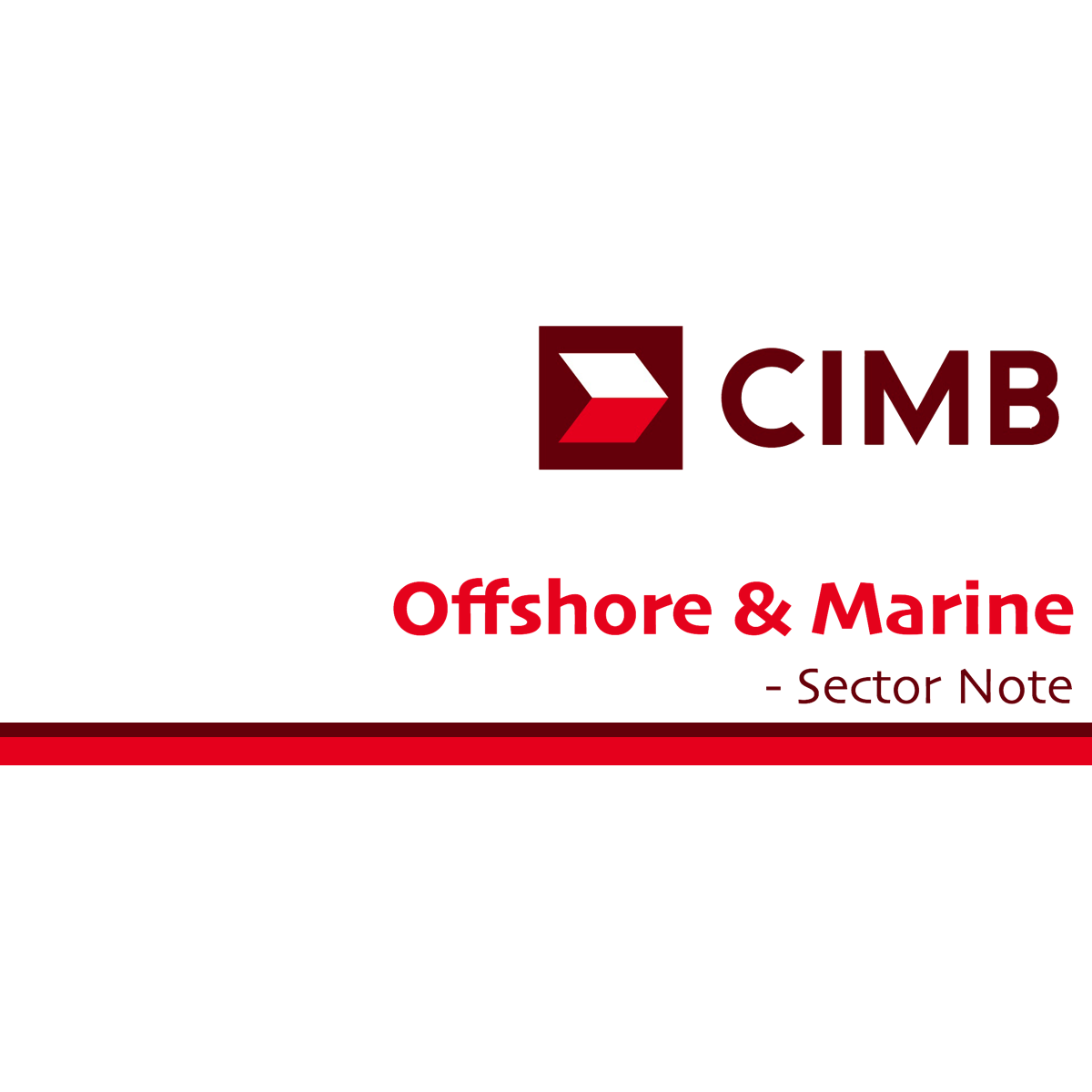 Offshore & Marine Small / Mid-Caps - CIMB Research 2018-01-12: See You After 1H18