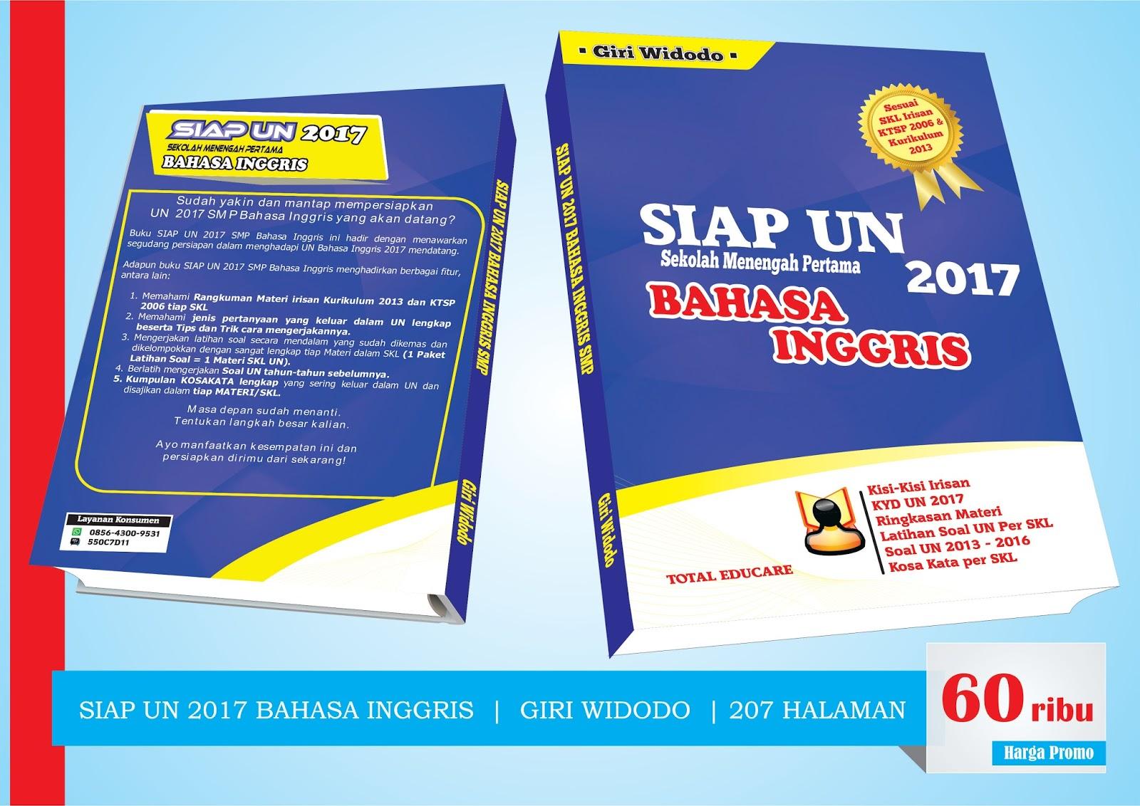 Modul Siap Un 2017 Bahasa Inggris Smp Giri Widodo