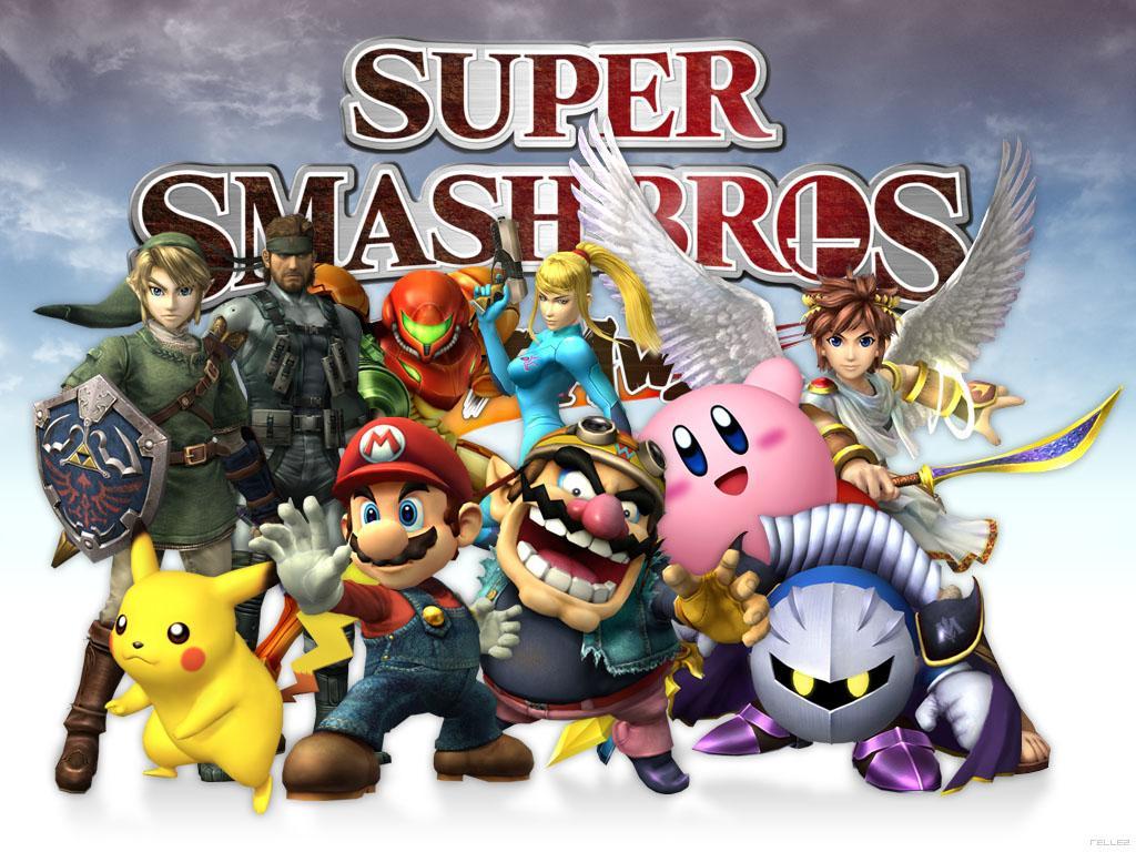Super smash bros 4 player