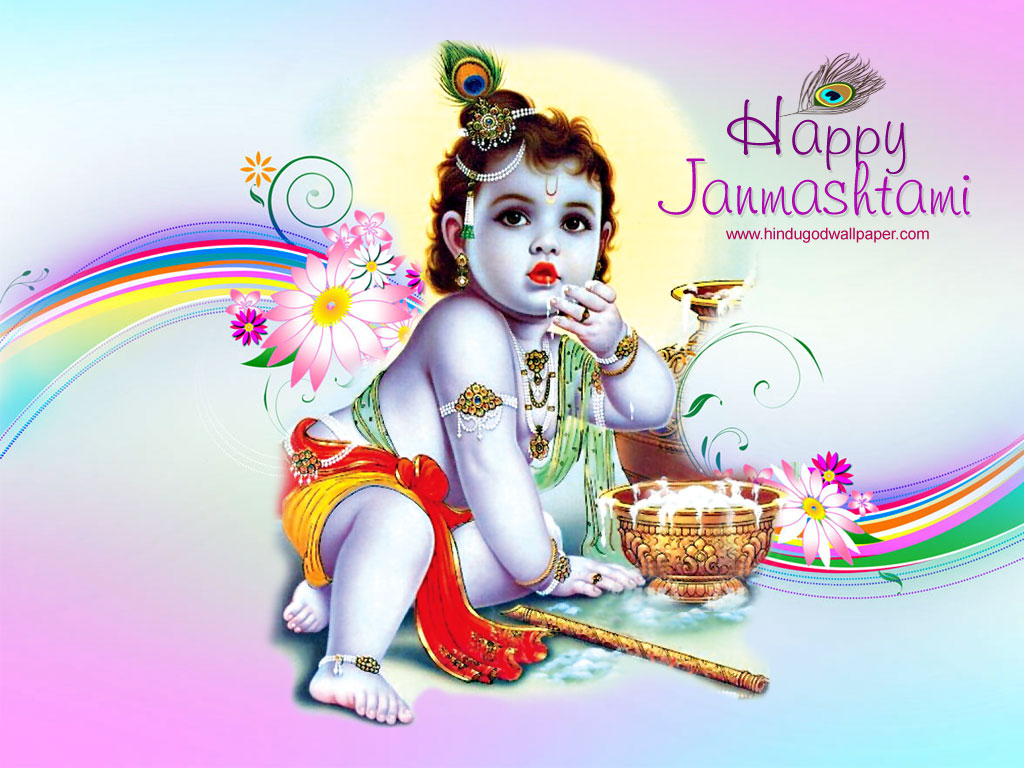 Bhagwan Ji Help Me: Top 10 Janmashtami Wallpapers