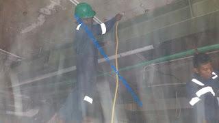 tahap kerja pemasangangan chemical anchor