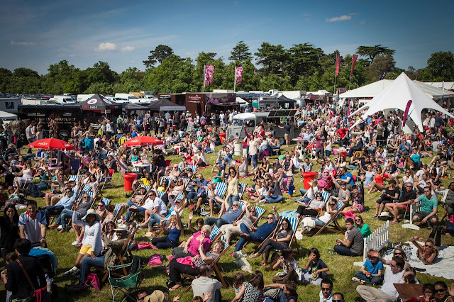 Sunny Crowds at Foodies Festival