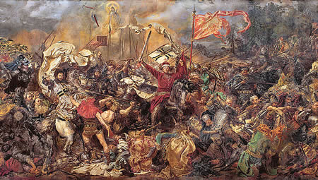 the Battle of Grunwald in 1410