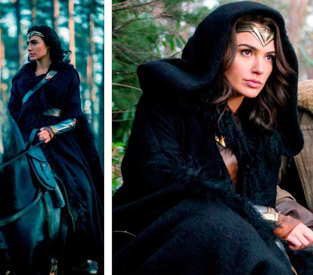 Looks Diana (Gal Gadot)