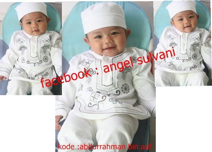 Kumpulan Foto Baju Muslim Bayi Laki Laki 3 Bulan
