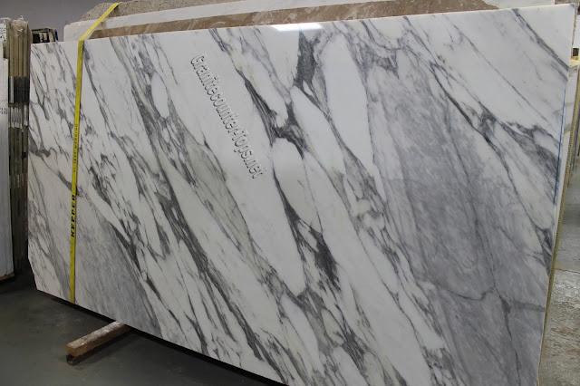 Statuario Cervaiole White Marble Slab