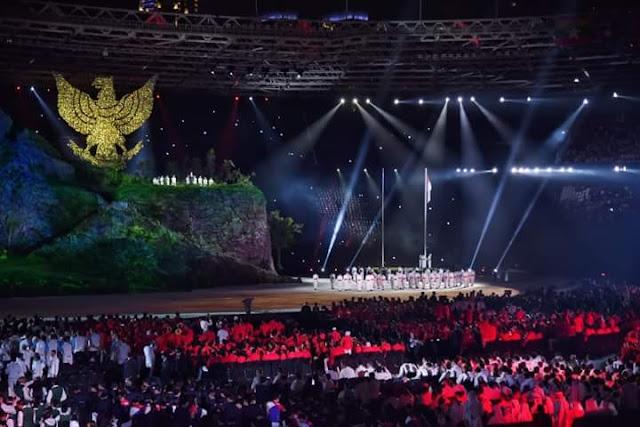 Tak Disorot Kamera Saat Pembukaan Asian Games, Di Sini Posisi Anies Baswedan