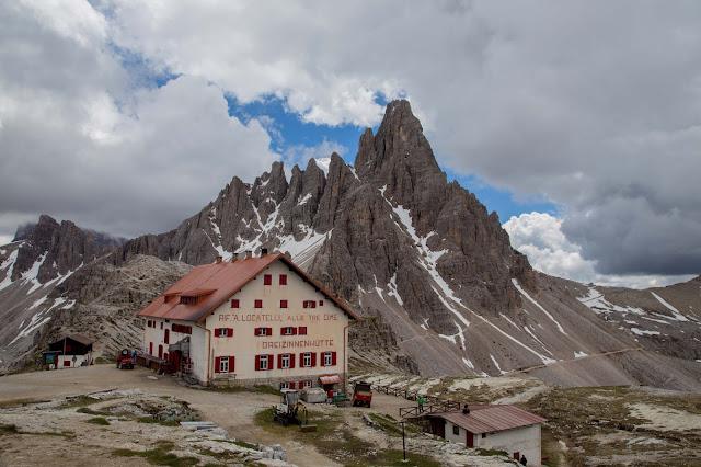 Rundtour Drei Zinnen - Dreizinnenhütte  Wanderung Sextner Dolomiten  Wandern Südtirol  Tourenbericht Tre Cime di Lavaredo  GPS-Track 13