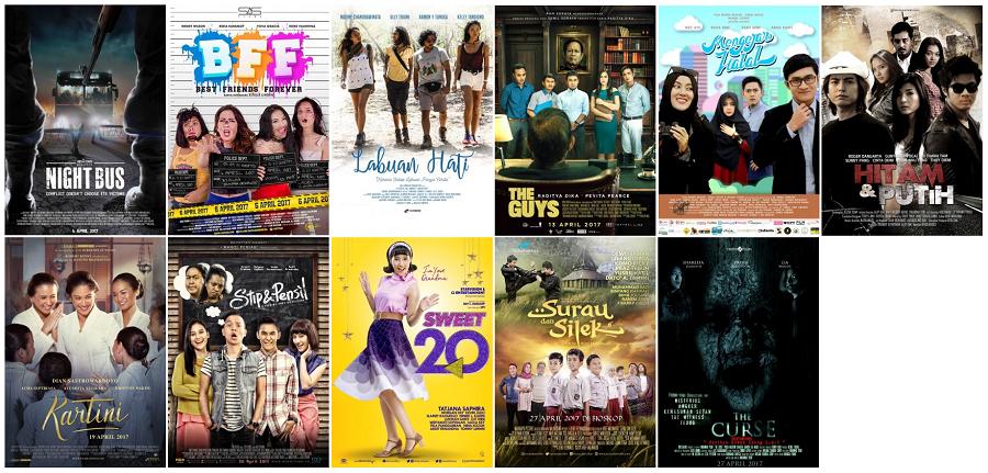 Film Indonesia Tayang Bulan April 2017