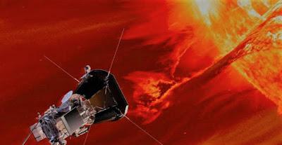 nasa Spacecraft near the Sun,nasa news,latest technology news,latest nasa news,Parker Solar Probe,nasa sun mission 2018,nasa sun mission 2019,parker solar probe mission,parker solar probe speed