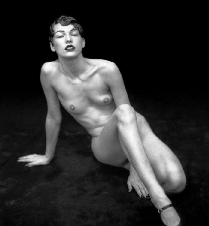 Milla Jovovich Nude With Nipples To Die For