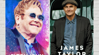 Venda de ingressos para shows de Elton John e James Taylor começaram