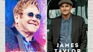 Venda de ingressos para shows de Elton John e James Taylor começaram