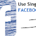 How To Use Single Name On Facebook