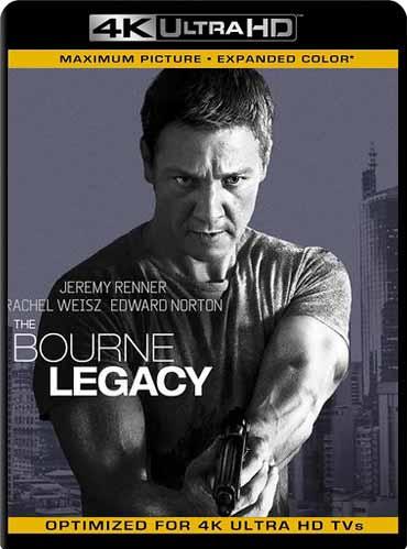 The Bourne Legacy (2012) 2160p 4k UHD HDR Latino [GoogleDrive] SXGO