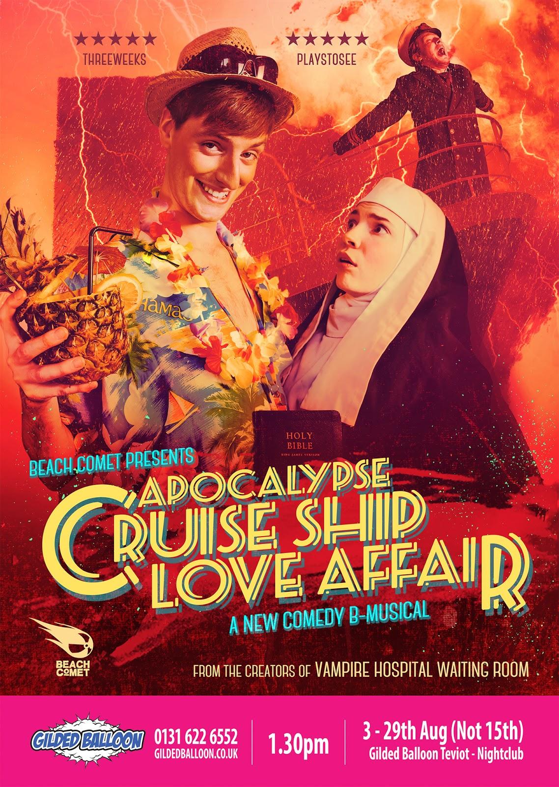 foster wallace cruise essay apocalypse dramaturgy theo mccabe edfringe the vile