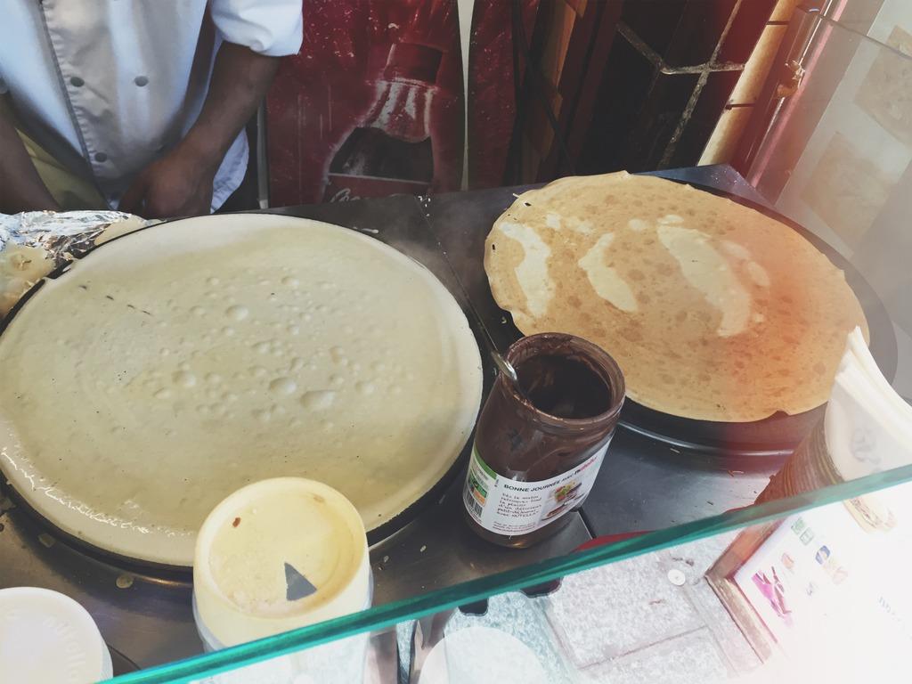 Nutella Crepe Paris