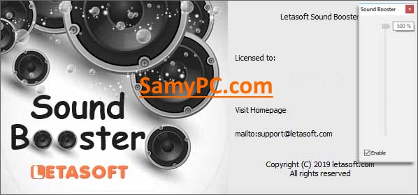 Letasoft Sound Booster Free Download Full Latest Version