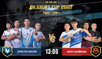AoE Biluxury Cup | SuperStar Hồng Anh vs SuperStar Vanelove | 4vs4 Random | 22/11/2020