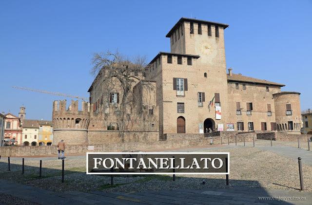 Fontanellato y la Rocca Sanvitale