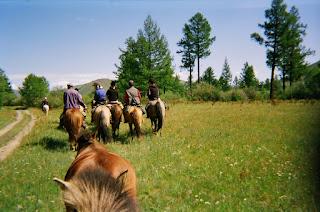 ratsastusmatka, Mongolia