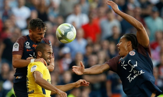 PSG suffered their first setback last weekend, drawing to Keagan Dolly's Montpellier side.