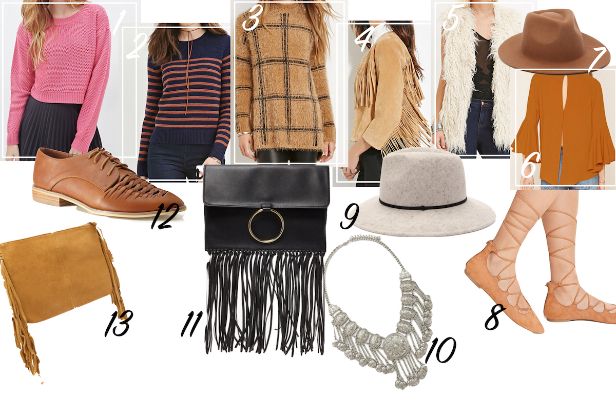 Editors Picks Forever21 Midseason Sale Autumn Fashion Trends