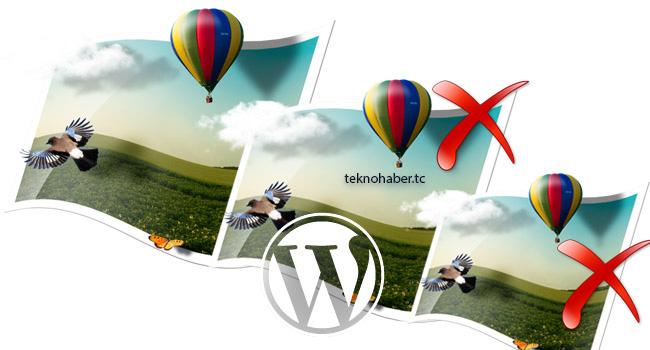 WordPress den Fazla Resimler Nasıl Silinir