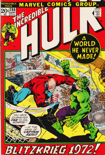 Incredible Hulk #155, Captain Axis