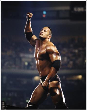 the rock before steroids
