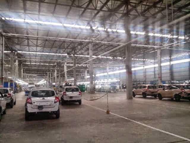 peningkatan produksi mobil datsun