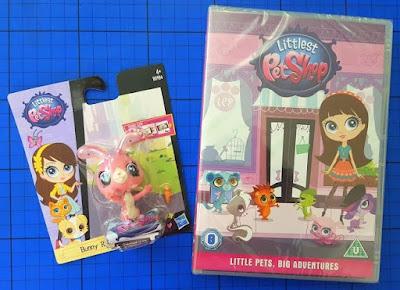 Littlest Pet Shop: Little Pets, Big Adventures DVD and toy