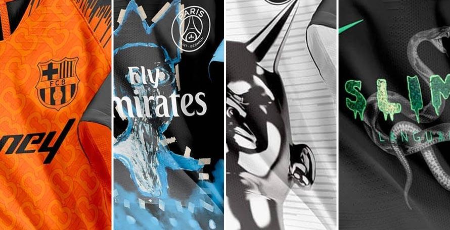Football X Fashion X Music Concept Kits By Nick Texeira Footy