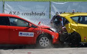 Car hitting another car from back, The Global NCAP Ratings and The India's Safest Car