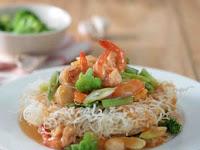 Resep Bihun Siram Sayuran