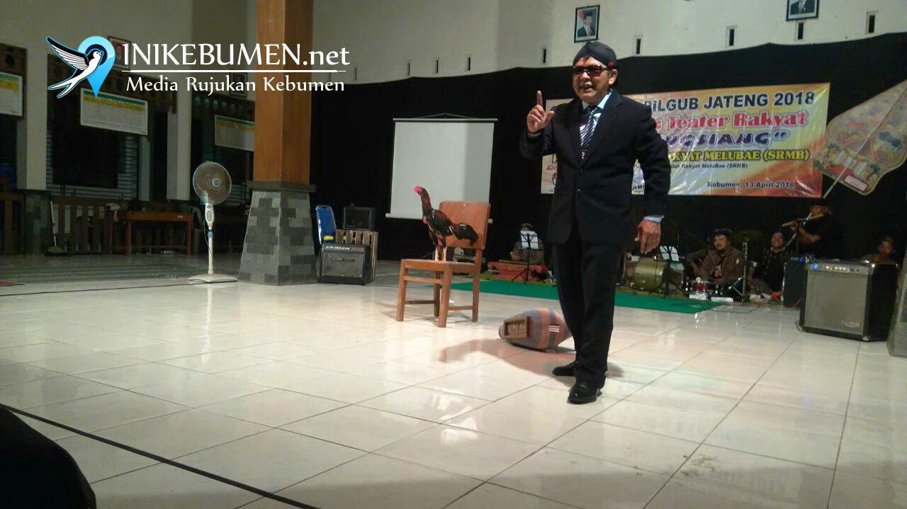 "Jelang Pilgub Jateng, SRMB Gelar Pementasan ""Jago Tengsiang"""