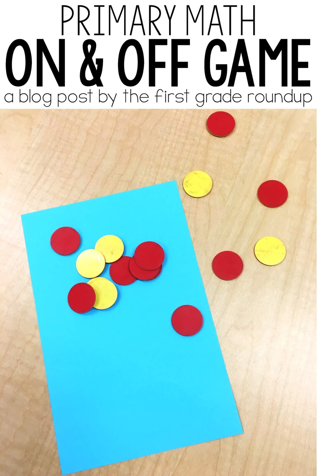 Primary Math Games: On and Off - Firstgraderoundup