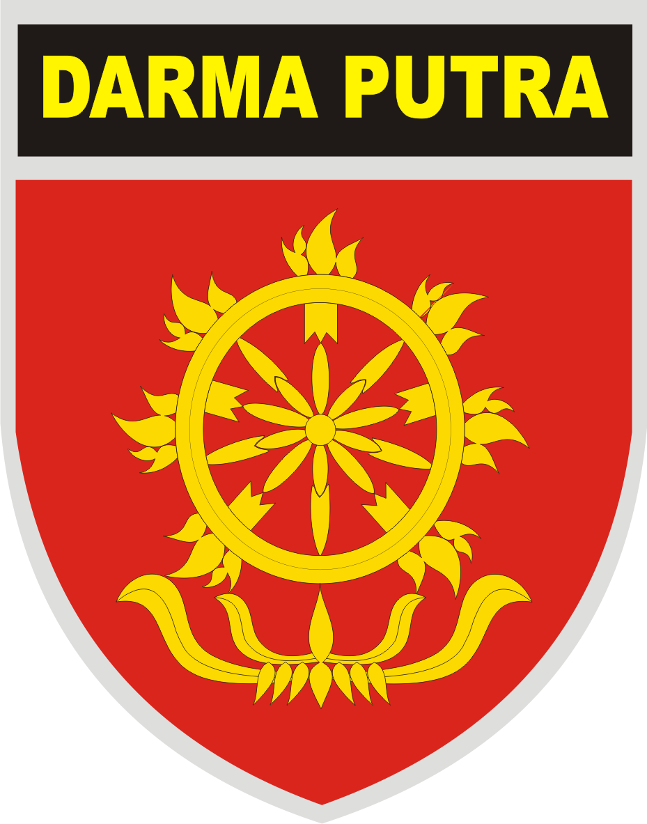 logo kostrad darma putra tentara nasional indonesia