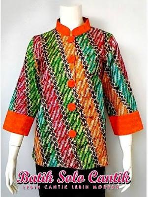 Batik Solo Cantik Diyanti Modis