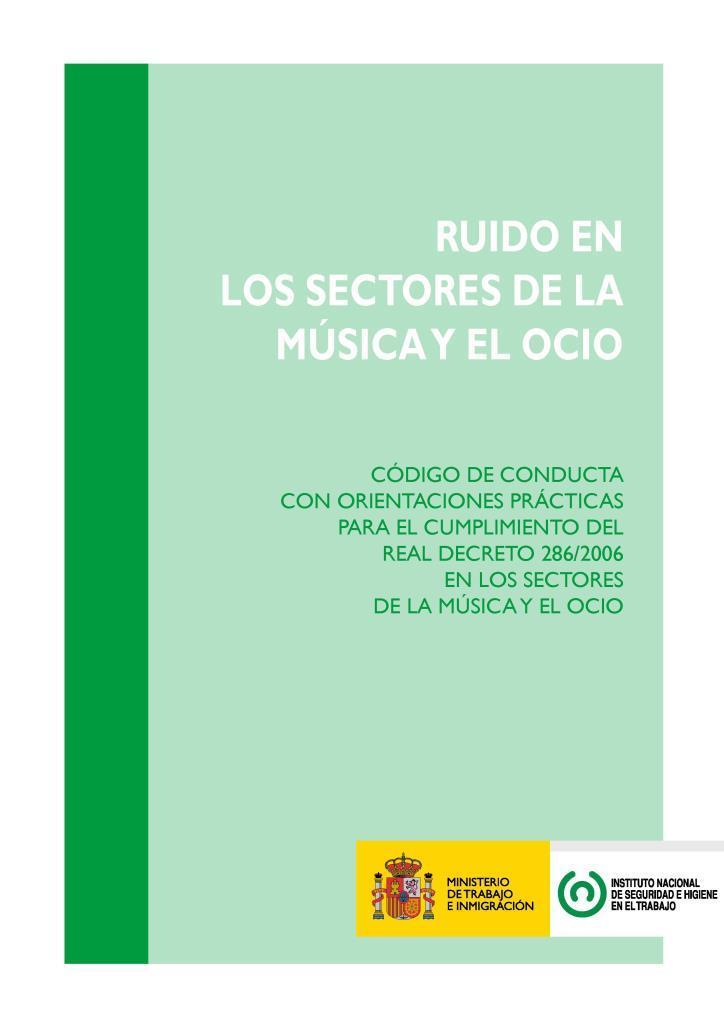 Ruido en los sectores de la música y el ocio
